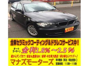 BMW 1シリーズ 116i ABS キーレス 純正16インチAW 右ハンドル オートマ車 ドライブレコーダー前方車内後方つき