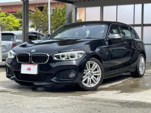 BMW 1シリーズ 118d Mスポーツ 純正ナビ バックカメラ 純正17アルミ LEDライト インテリジェントセーフティ レーンディパーチャーウォーニング クルーズコントロール スマートキー プッシュスタート アイドリングストップ