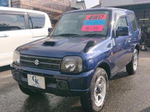 スズキ ジムニー XG 4WD 5速マニュアル インタークーラーターボ キーレスエントリー 純正アルミ