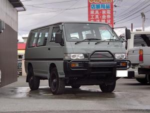 三菱 デリカスターワゴン  4WD AT カスタムオールペン タイベル済
