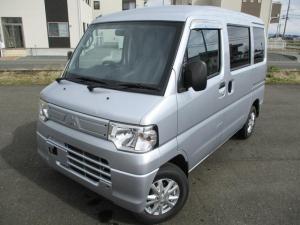 三菱 ミニキャブバン CD/4WD/保証付/バックカメラ/新品タイヤ/社外アルミ