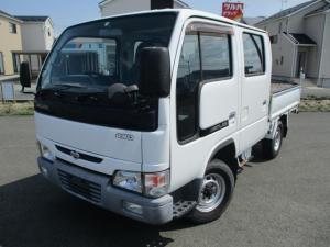 日産 アトラストラック Wキャブ/切替式4WD/シングルタイヤ/保証付/750kg