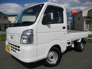 日産 NT100クリッパートラック DX 4WD/エアコン・パワステ/走行1万キロ台/キャリィOEM/関東仕入/保証付き販売車両/内外装クリーニング済み