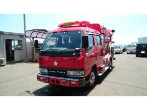 三菱ふそう キャンター 消防車 4WD