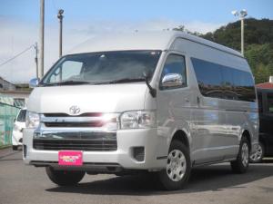 トヨタ ハイエースワゴン グランドキャビン 4WD 純正ナビTV バックカメラ 電動ドア トヨタセーフティセンス Bluetooth対応 10人乗
