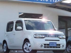 日産 キューブ 15X FOUR Vセレクション 4WD CDチューナ- ワンオーナー車 インテリアキー