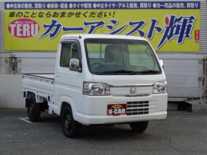 ホンダ アクティトラック タウン 4WD 5MT 純正CDデッキオーディオ エアコン パワステ パワーウィンドー キーレス
