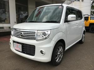 日産 モコ ドルチェX FOUR 4WD 純正SDナビ付 ワンオーナー エンジンスターター付 フルセグTV