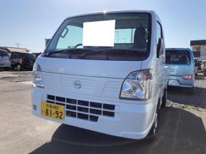 日産 NT100クリッパートラック DX農繁仕様 4WD AC MT 修復歴無 軽トラック ホワイト