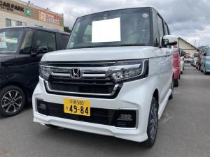 ホンダ N-BOXカスタム L 4WD LED 衝突被害軽減システム AC 修復歴無 バックカメラ AW 4名乗り オーディオ付 スマートキー
