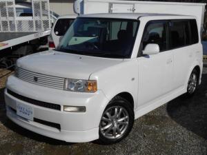 トヨタ bB Z Xバージョン 4WD HIDライト パールホワイト 純正エアロ 15インチアルミ ベンチシート 車検整備付