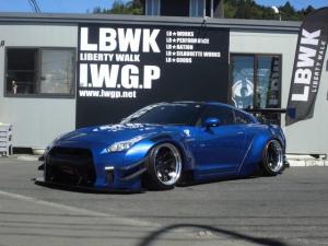 日産 GT-R ピュアエディション MY20 LB-WORKS フルコンプリート ver.2 Fカーボン LBオリジナル20インチ イデアル4独エアサス RH9マフラー ECU リセッティング 馬力アップ ブラック塗装 Fプロテクション