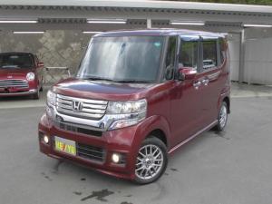ホンダ N-BOXカスタム G・ターボパッケージ 4WD SDナビ フルセグ クルコン