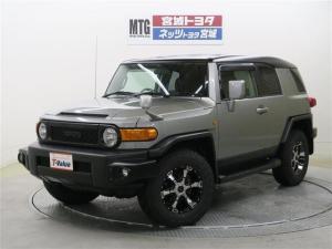 トヨタ FJクルーザー MTGカスタマイズ 4WD メモリーナビ フルセグ ETC