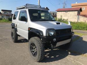 スズキ ジムニー XC 4WD ターボ 5MT ナビ フルセグ リフトアップ マフラー HID LEDフォグランプ