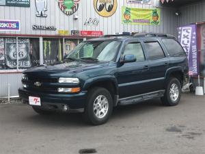 シボレータホ Z71 4WD CD キーレス 社外アルミ パワーシート 本革シート 左ハンドル 外装全塗装済・エンジンOH済