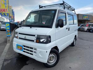 三菱 ミニキャブバン CD 4WD ハイルーフ ルーフキャリア