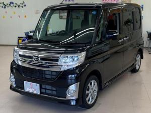 ダイハツ タント カスタムX 4WD 純正ナビ バックカメラ