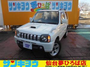 スズキ ジムニー ワイルドウインド 社外SDナビ 切り替え式4WD キーレス