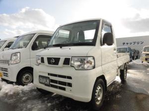 日産 クリッパートラック DX 4WD ラジオ 三方開 AT車