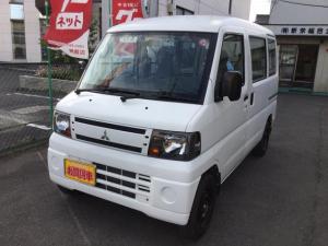 三菱 ミニキャブバン CDオートマ2WDハイルーフ 走行106450km タイミングベルト未交換 SRS AC ナビ パワステ