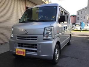 マツダ スクラム PAマニュアル切換4WD AC PS スタットレスタイヤ付