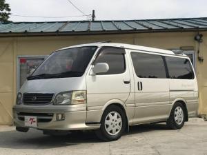 トヨタ ハイエースワゴン リビングサルーンEX トリプルムーンルーフ ローダウン