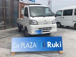 ダイハツ ハイゼットトラック エアコン・パワステ スペシャル 4WD 5速 LED CD