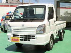 スズキ キャリイトラック KCエアコン・パワステ 4WD オートマ  登録済未使用車