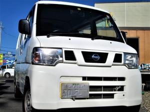 日産 NV100クリッパーバン DX オートマ箱バン4WD ハイルーフ 検R4年6月