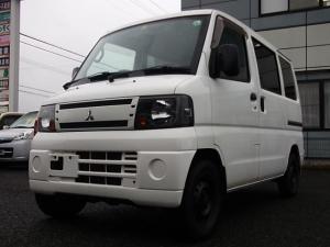 三菱 ミニキャブバン CD 4WD・走87000・ハイルーフ・AC・PS・エアB