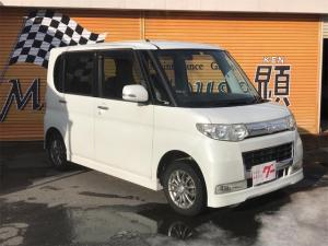 ダイハツ タント カスタムX 4WD CD スマートキー エンジンスターター 左側スライドドア 社外13インチアルミ ABS エアバッグ