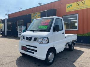 日産 NT100クリッパートラック DX エアコン/パワステ/三方開/4WD