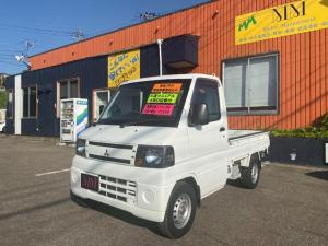 三菱 ミニキャブトラック Vタイプ 5MT/4WD/エアコン/パワステ