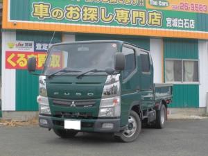 三菱ふそう キャンター Wキャブ 4WD