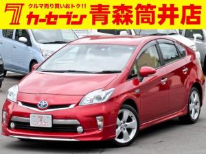 トヨタ プリウスPHV G モデリスタフルエアロ/禁煙車/シートヒーター/純正ナビ/ツーリング用17インチAW
