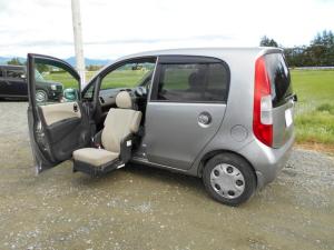 ホンダ ライフ F 助手席電動リフトアップシート 福祉車両 4AT