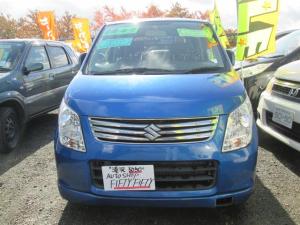 スズキ ワゴンR FXリミテッド 4WD ナビETC  整備付 ブルー