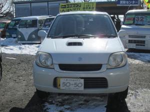スズキ Kei Bターボ ターボ2WD 5速マニュアル  70000K オカイドク   〜3/6 ユーザー買取