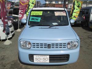 スズキ アルトラパン Xリミテッド 4WD ABS ブルー/ホワイトツートン 専用アルミ 保証