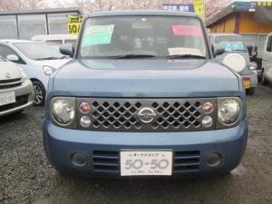 日産 キューブ 14S 2WD TVナビETC 社外アルミ サビナシキレイ