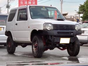 スズキ ジムニー XG 4WD リフトアップ 社外バンパー MT5