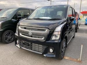 スズキ ワゴンRスティングレー ハイブリッドX 4WD 車線逸脱 運転席シートヒーター スマートキープッシュスタート