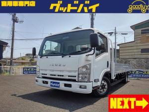 いすゞ エルフトラック 超ロング 2tロングワイド アルミブロック スムーサーEX 荷台寸法約幅206cm長さ498cm