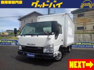 いすゞ エルフトラック  1.5t アルミバン 4WD 荷室寸法約高さ180cm幅175cm長さ310cm スムーサーEX
