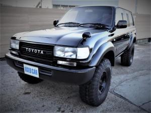 トヨタ ランドクルーザー80 VXリミテッド 4WD ディーゼル 黒全塗装 タイヤ新品 サンルーフ オートクルーズコントロール オートライト