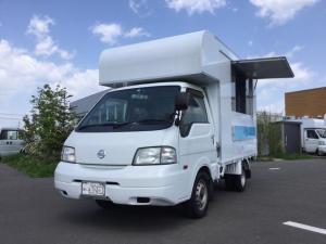 日産 バネットトラック  フードトラック厨房器具搭載済 保健所対応設備付 厨房サイズL2.4m/W1.6m/H1.8m 広々スペースで様々な調理に対応可能本格的キッチンカー