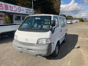 マツダ ボンゴバン 4WD エアコン エアバッグ ディーゼル 3名乗り ホワイト