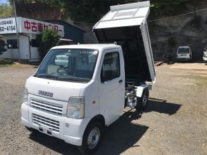 スズキ キャリイトラック ダンプ 4WD AC MT 軽トラック ホワイト