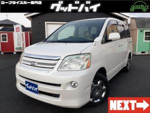 トヨタ ノア Xリミテッド4WD 社外ナビ/TV  ETC 純正AW